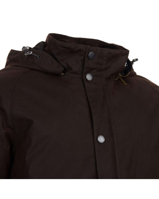 Men Jacket Wax Defender in Rover Brown Land Grinton Barbour Lyst for  fwqxXIzf 0e5bdfcbb