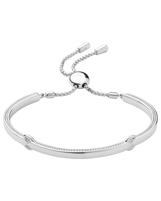 John Lewis - Metallic Links Of London Sterling Silver Narrative Articulated Bracelet - Lyst
