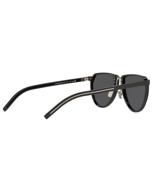 87e88912b07 Dior Men s Blacktie248s Oval Sunglasses in Black for Men - Lyst