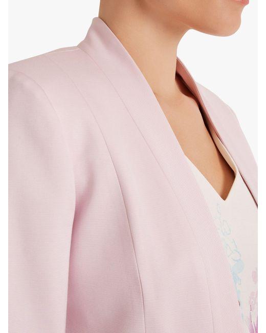 ... Fenn Wright Manson - Purple Petite Lichtenstein Jacket - Lyst c2f491645