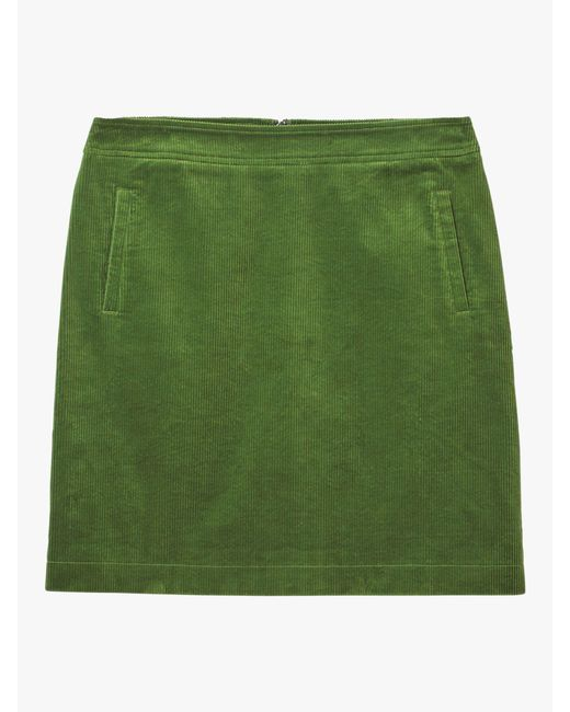 0bb54f7979 White Stuff Iris Cord A-line Skirt in Green - Save 31% - Lyst