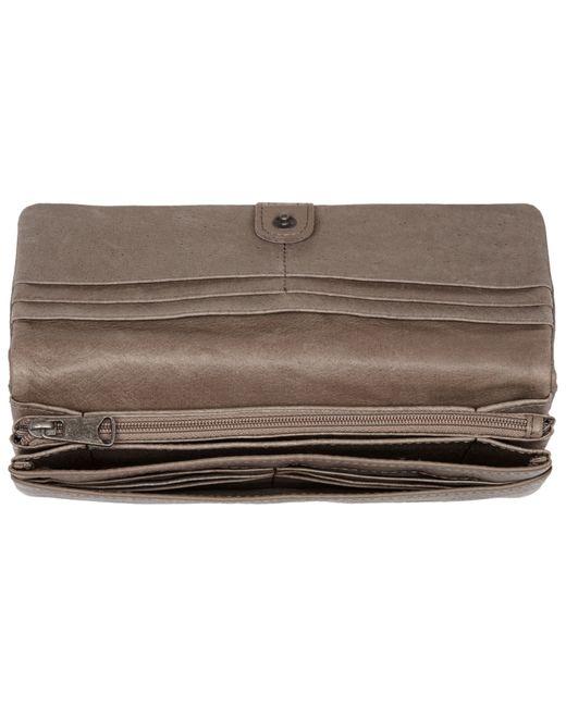 liebeskind slam 6 leather vintage wallet in multicolour. Black Bedroom Furniture Sets. Home Design Ideas