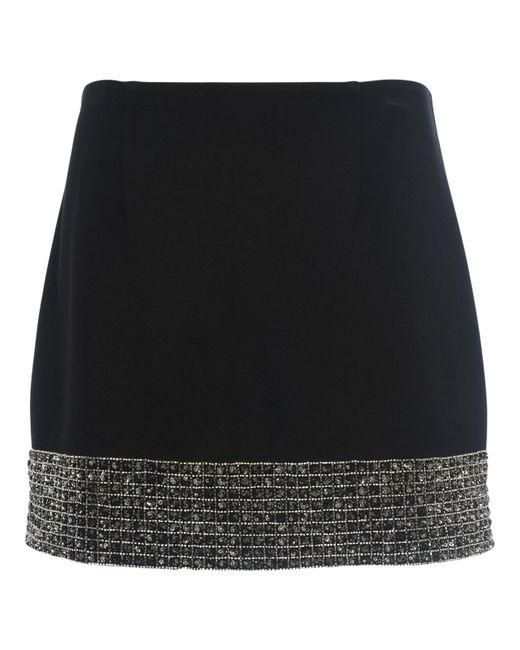 French Connection | Natural Crystal Shot Mini Skirt | Lyst