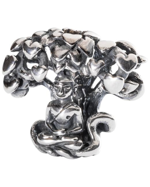 Trollbeads | Metallic Sterling Silver Tree Of Awareness Charm | Lyst