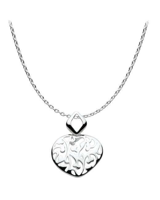 Kit Heath | Metallic Open Floret Pendant Necklace | Lyst