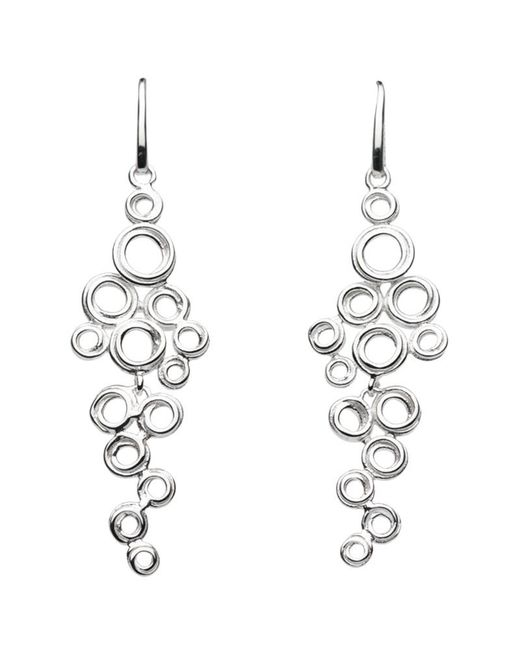 Kit Heath | Metallic Coil Cluster Drop Earrings | Lyst