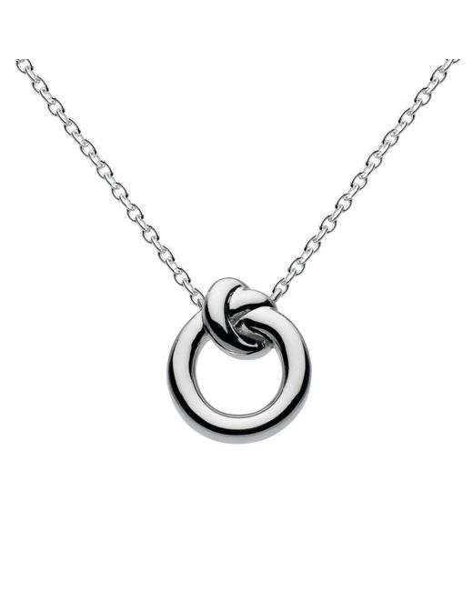 Kit Heath | Metallic Sterling Silver Knot Necklace | Lyst