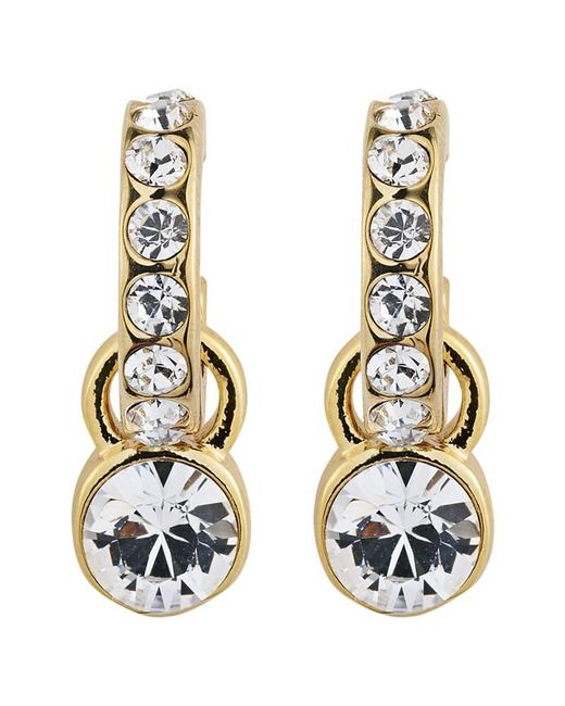 Dyrberg/Kern | Metallic Dyrberg/kern Laurino Swarovski Crystal Earrings | Lyst