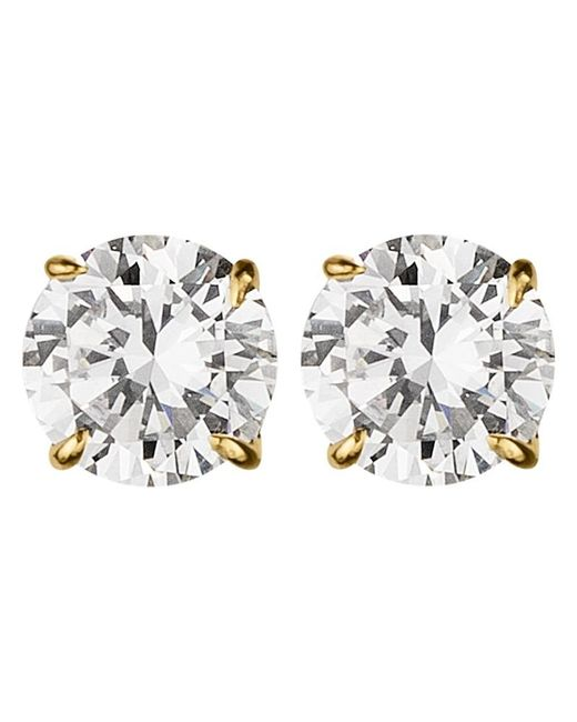 Dyrberg/Kern | Metallic Dyrberg/kern Nene Cubic Zirconia Crystal Stud Earrings | Lyst