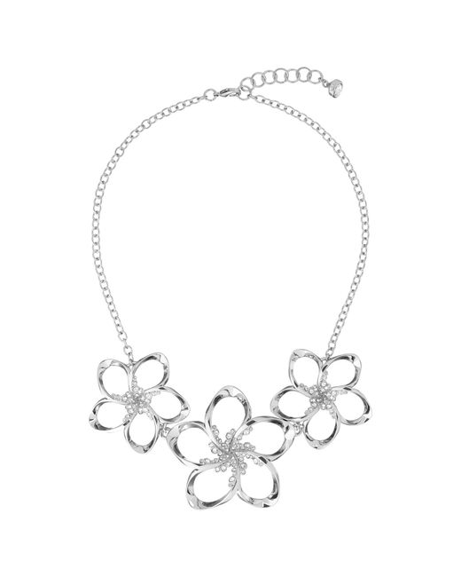 Ted Baker | Metallic Bluum Swarovski Crystal Large Blossom Necklace | Lyst