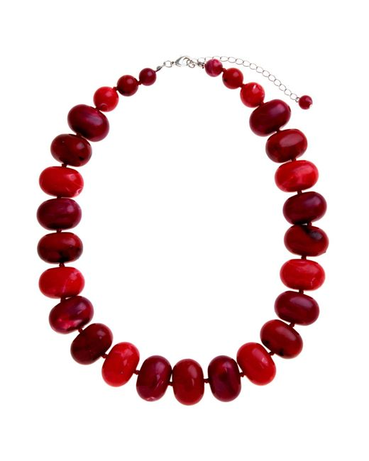 John Lewis | Purple Potato Bead Statement Necklace | Lyst