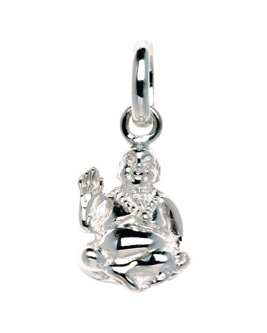 Links of London | Metallic Sterling Silver Laughing Buddha Charm | Lyst