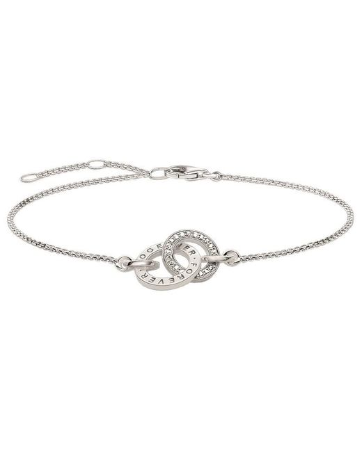 Thomas Sabo | Metallic Glam & Soul Together Forever Ring Bracelet | Lyst