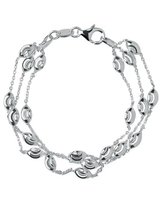 Links of London - Metallic Essentials Sterling Silver Beaded Chain 3 Row Bracelet - Lyst