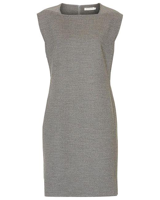 Betty & Co. | Gray Felt Shift Dress | Lyst