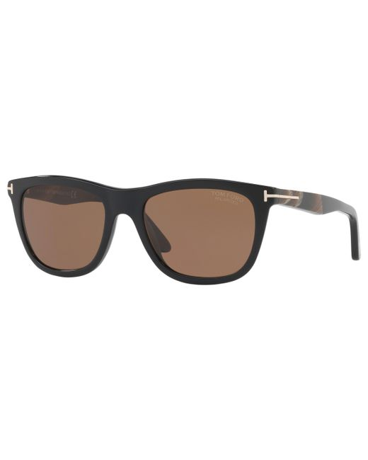 b1d38735df2 Tom Ford - Brown Ft0500 Andrew Polarised Square Sunglasses for Men - Lyst