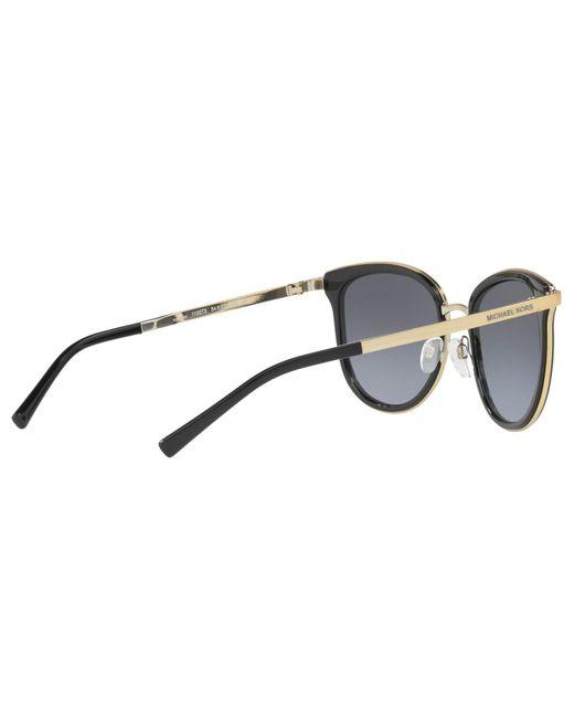 ff5bc8cba77 ... Michael Kors - Multicolor Mk1010 Adrianna Polarised Oval Sunglasses -  Lyst ...