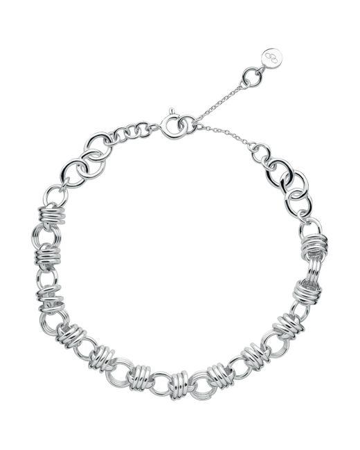 Links of London - Metallic Sweetie Xs Sterling Silver Chain Charm Bracelet - Lyst