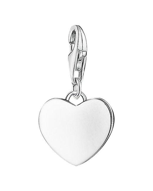 Thomas Sabo | Metallic Charm Club Heart Charm | Lyst