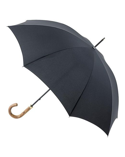 Fulton - Black G807 Commissioner Walking Umbrella - Lyst