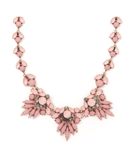 John Lewis   Multicolor Diamante Statement Necklace   Lyst