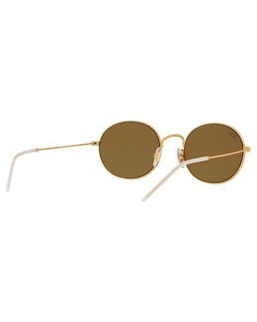 21320920b4 ... Ray-Ban - Brown Rb3594 Unisex Round Sunglasses for Men - Lyst ...