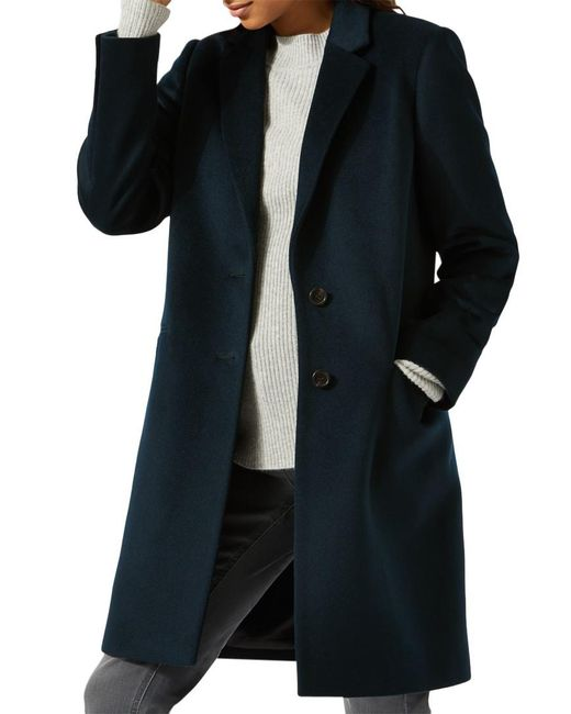 Jigsaw | Multicolor Single Breasted City Wool Coat | Lyst