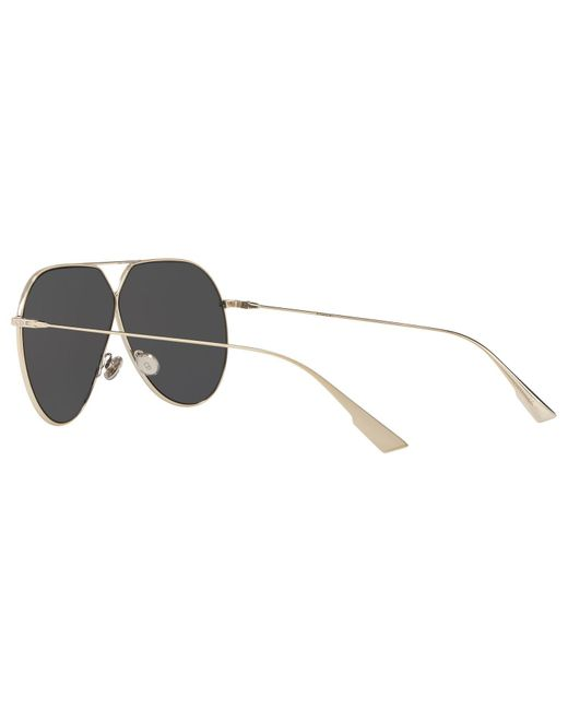 4d26fb2541b ... Lyst Dior - Metallic Stellaire3 Women s Aviator Sunglasses ...