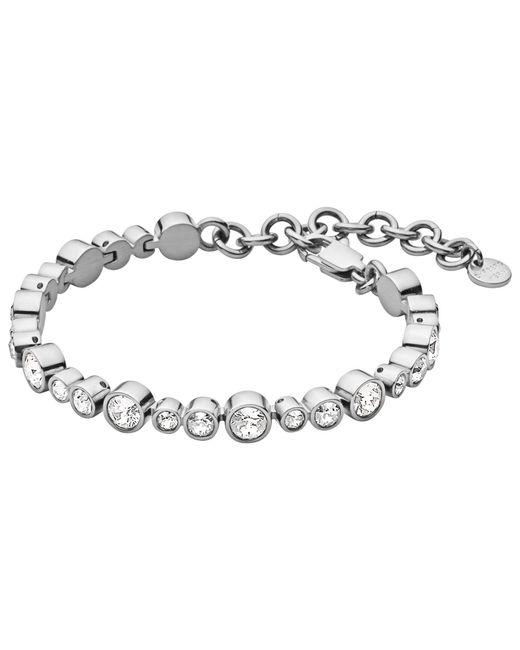 Dyrberg/Kern | Metallic Dyrberg/kern Teresia Swarovski Crystals Bracelet | Lyst