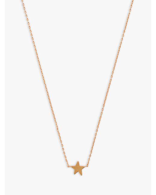 Madewell - Metallic Star Pendant Necklace - Lyst
