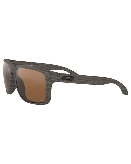 2cefe47296 ... Lyst Oakley - Brown Oo9417 Men s Holbrook Xl Prizm Polarised Square  Sunglasses for Men ...
