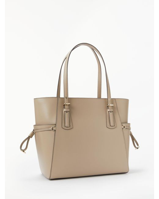b1598a3f6286 ... Michael Kors - Multicolor Michael Voyager East West Leather Tote Bag -  Lyst ...