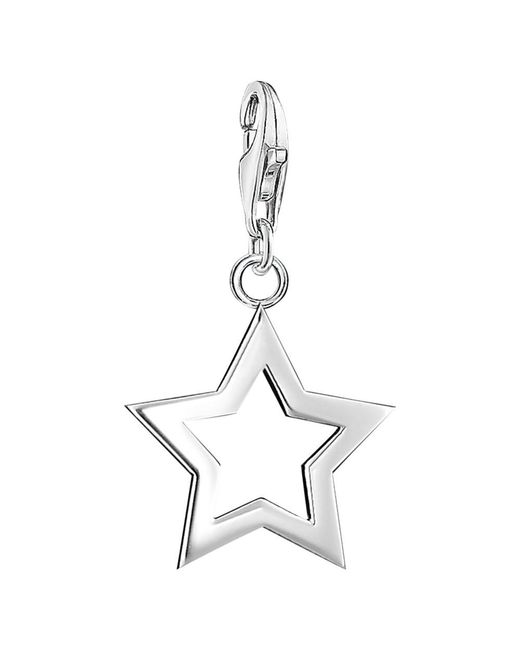 Thomas Sabo | Metallic Charm Club Star Charm | Lyst