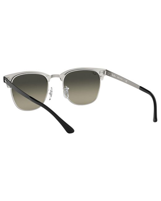 b984d7663d ... Ray-Ban - Black Rb3716 Unisex Square Sunglasses for Men - Lyst ...