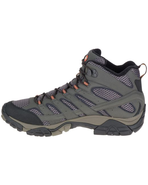 b74df61d342d Merrell Moab 2 Mid Gore-tex Hiking Boots in Black for Men - Save 40 ...