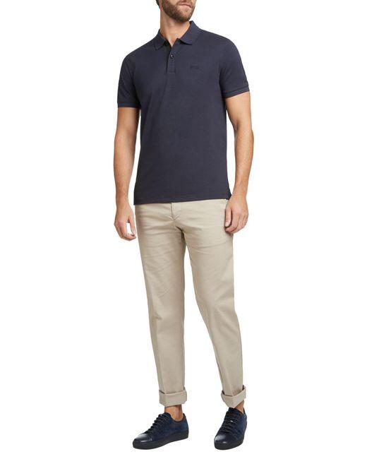 69c583f00484 ... BOSS - Blue Boss Pallas Regular Fit Polo Shirt for Men - Lyst ...