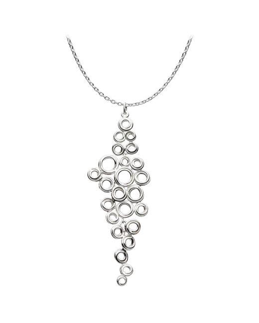 Kit Heath - Metallic Coil Cluster Pendant Necklace - Lyst