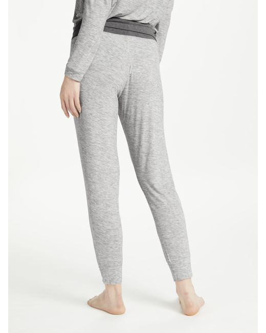 John Lewis - Gray Space Dye Lounge Bottoms - Lyst