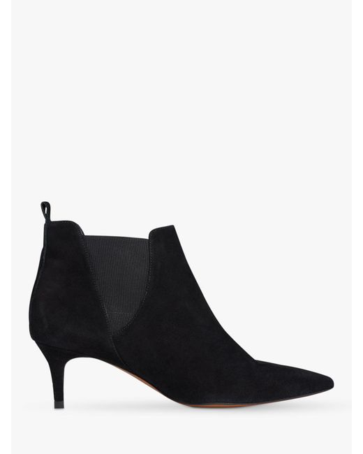 Whistles - Black Orley Pointed Toe Ankle Boots - Lyst