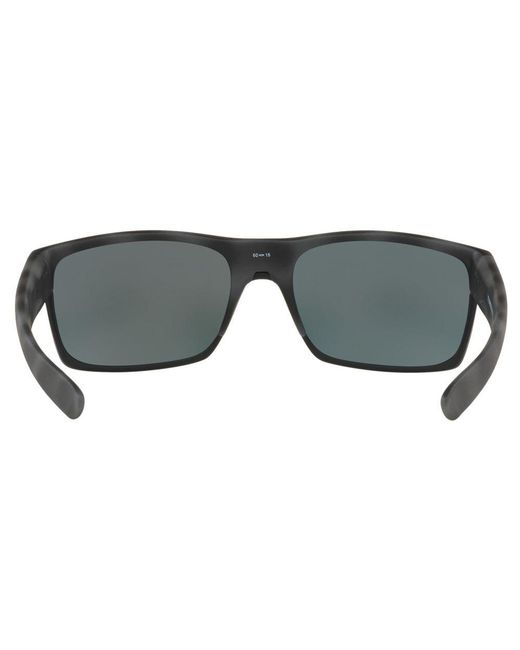 6853b07072 ... Oakley - Black Oo9189 Two Face Polarised Square Sunglasses for Men -  Lyst ...