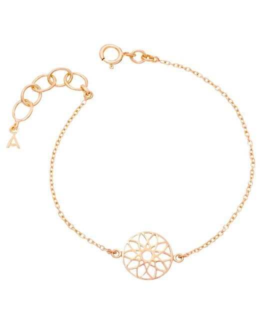 Auren | Pink 18ct Rose Gold Vermeil Dreamcatcher Bracelet | Lyst