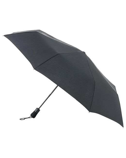 Fulton | Black Jumbo Open And Close Umbrella | Lyst