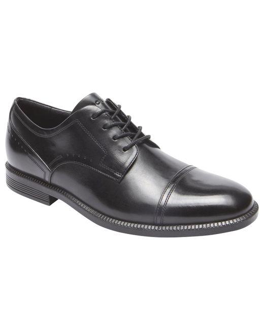 Rockport - Black Dressport Toecap Shoes for Men - Lyst