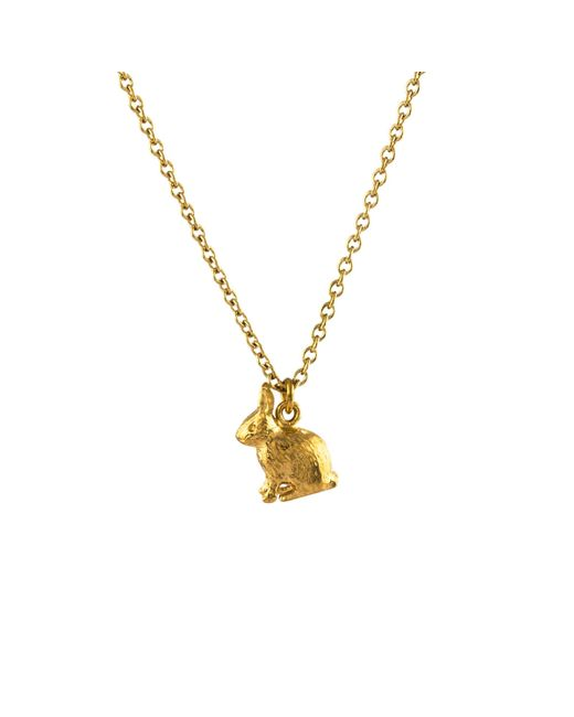 Alex Monroe - Metallic 22ct Gold Plated Sterling Silver Small Hot Air Balloon Pendant Necklace - Lyst