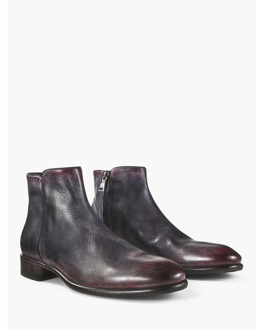 John Varvatos | Multicolor Eldridge Zip Boot for Men | Lyst
