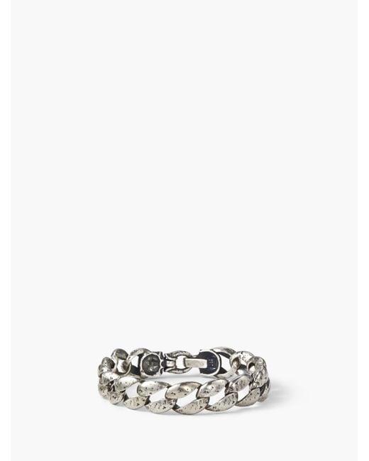 John Varvatos - Metallic Artisanal Silver Bracelet for Men - Lyst