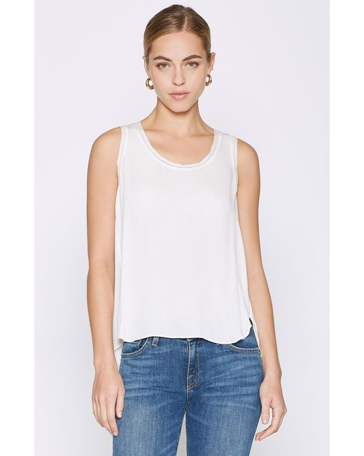 Joie - White Oceae Silk Top - Lyst