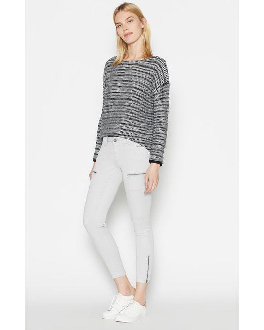 Joie | Gray Park Skinny Pants | Lyst