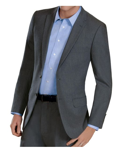 Lyst jos a bank joseph slim fit 2 button suit jacket for Jos a bank slim fit vs tailored fit shirts