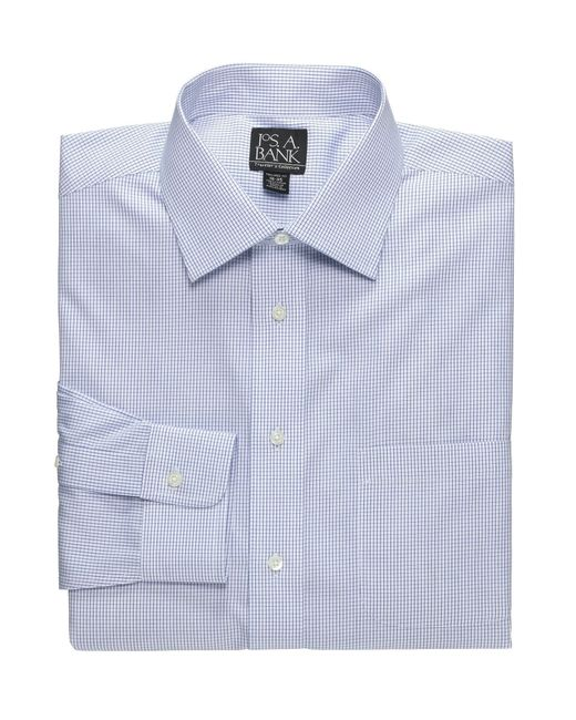 Jos a bank traveller collection traditional fit point for Joseph banks dress shirts